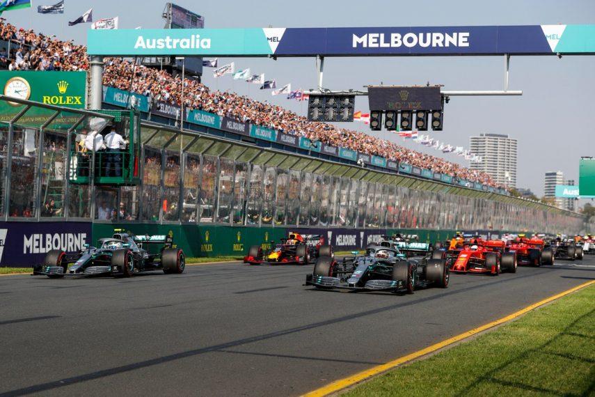 GP de Australia: Incontestable victoria de Bottas, mientras Ferrari decepciona