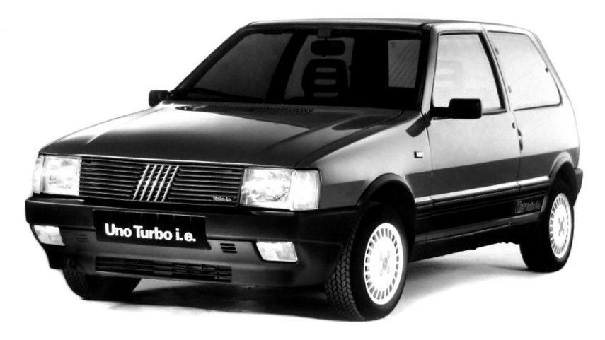 Coche del día: Fiat Uno Turbo i.e.
