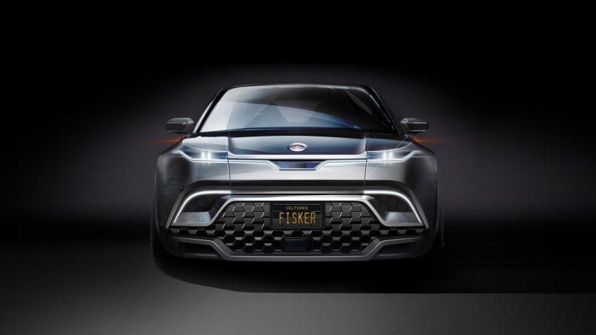 Fisker muestra un dibujo de su próximo SUV eléctrico