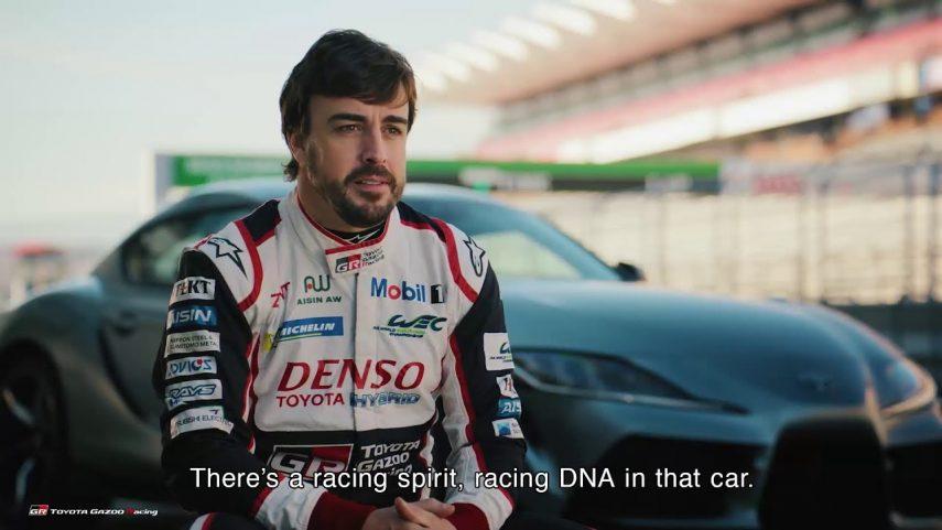 Súbete al nuevo Toyota Supra con Fernando Alonso