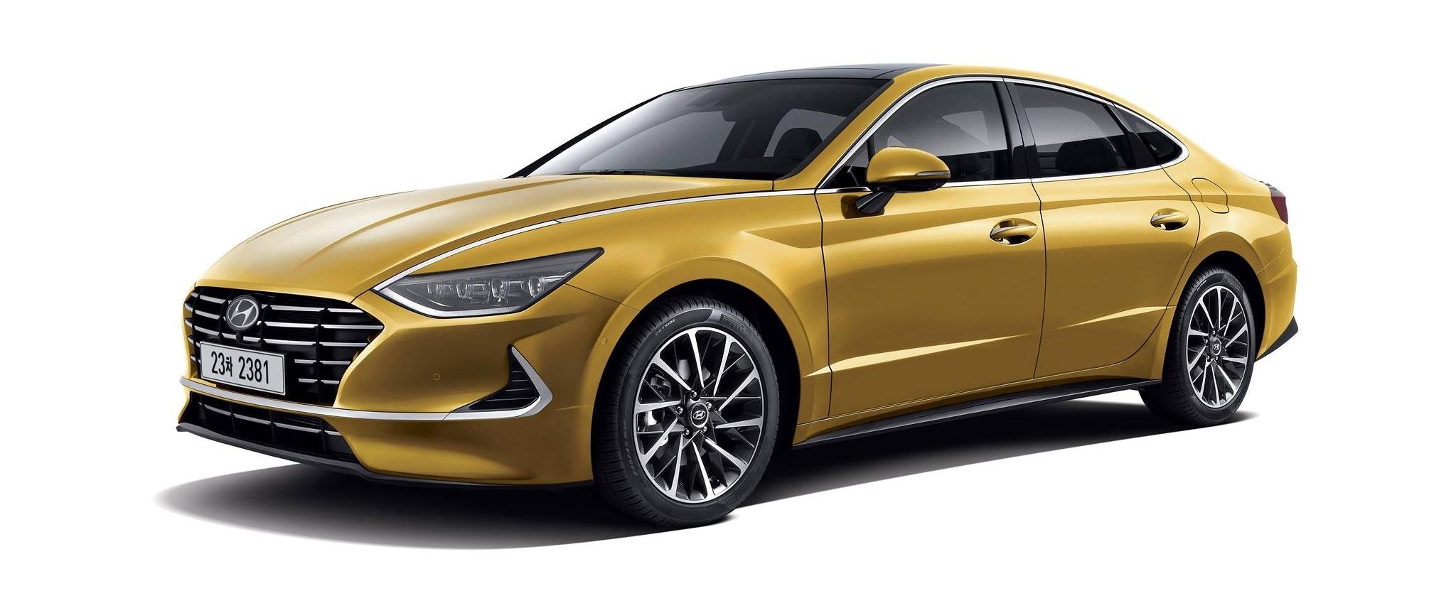 Este es el nuevo Hyundai Sonata 2020