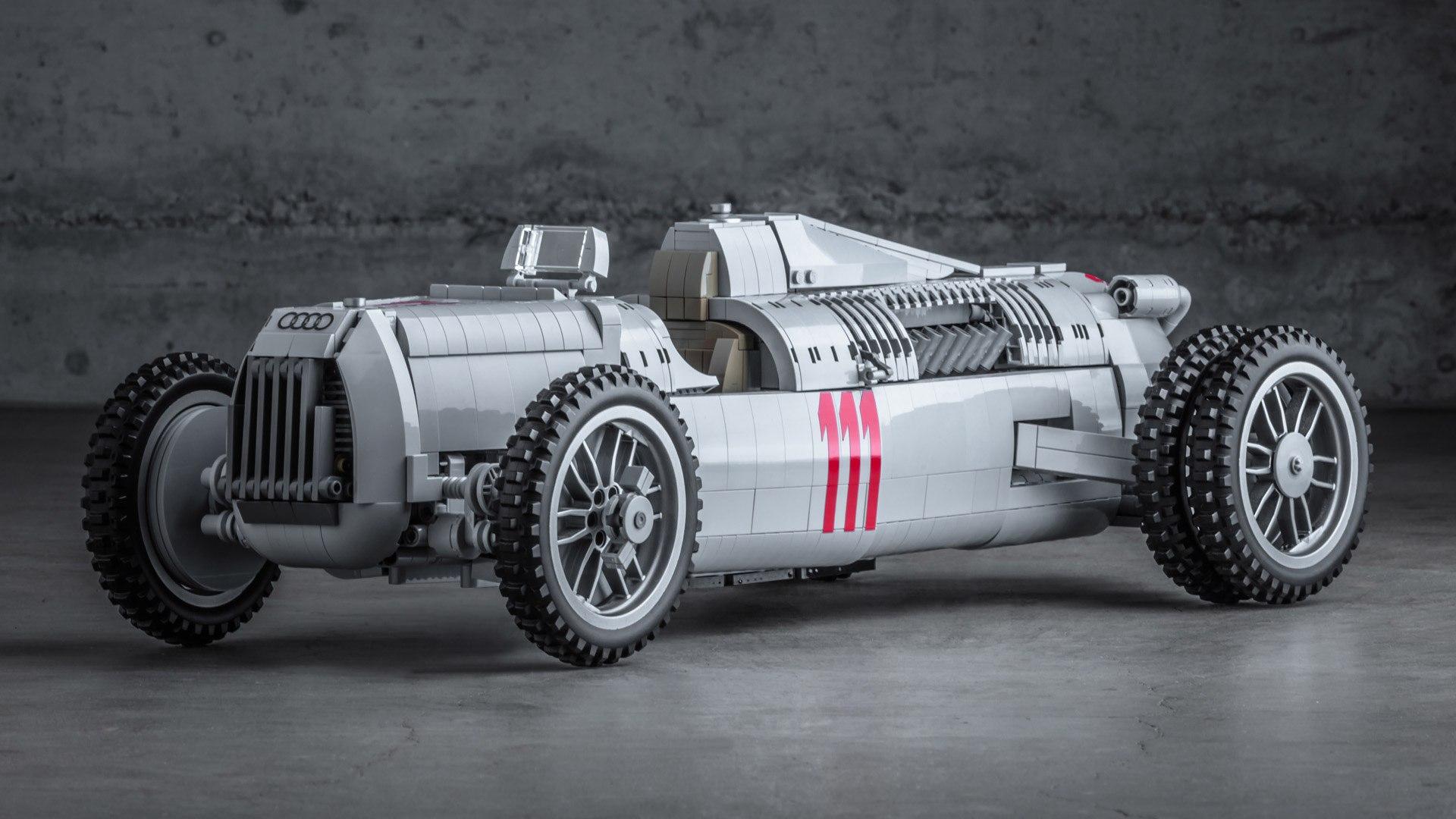 Con la ayuda de todos, este Auto Union Type C de LEGO puede llegar al mercado