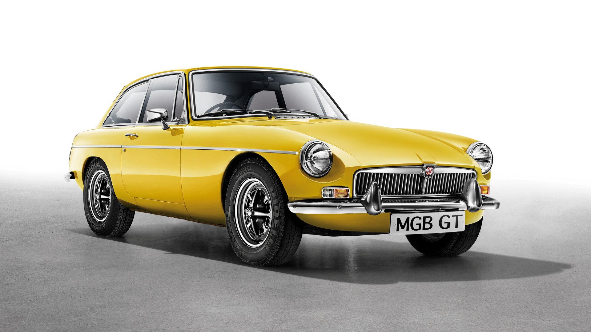 Coche del día: MGB GT 1800