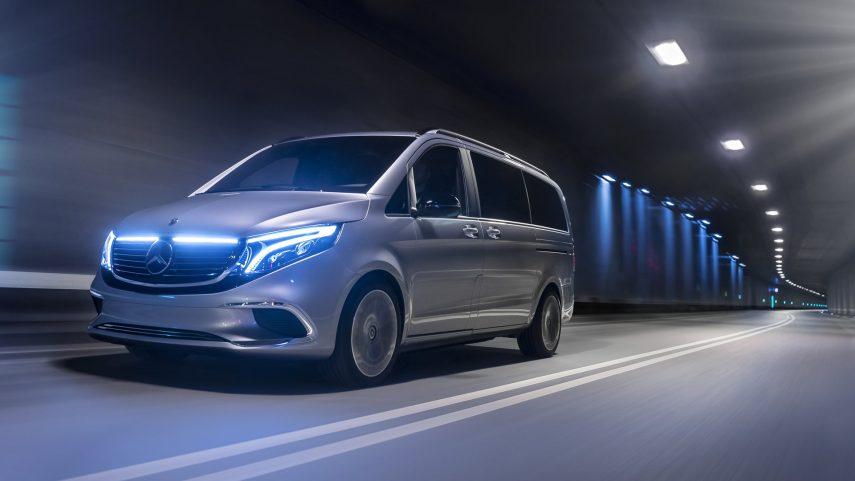 La Mercedes Clase V eléctrica se anticipa en Ginebra