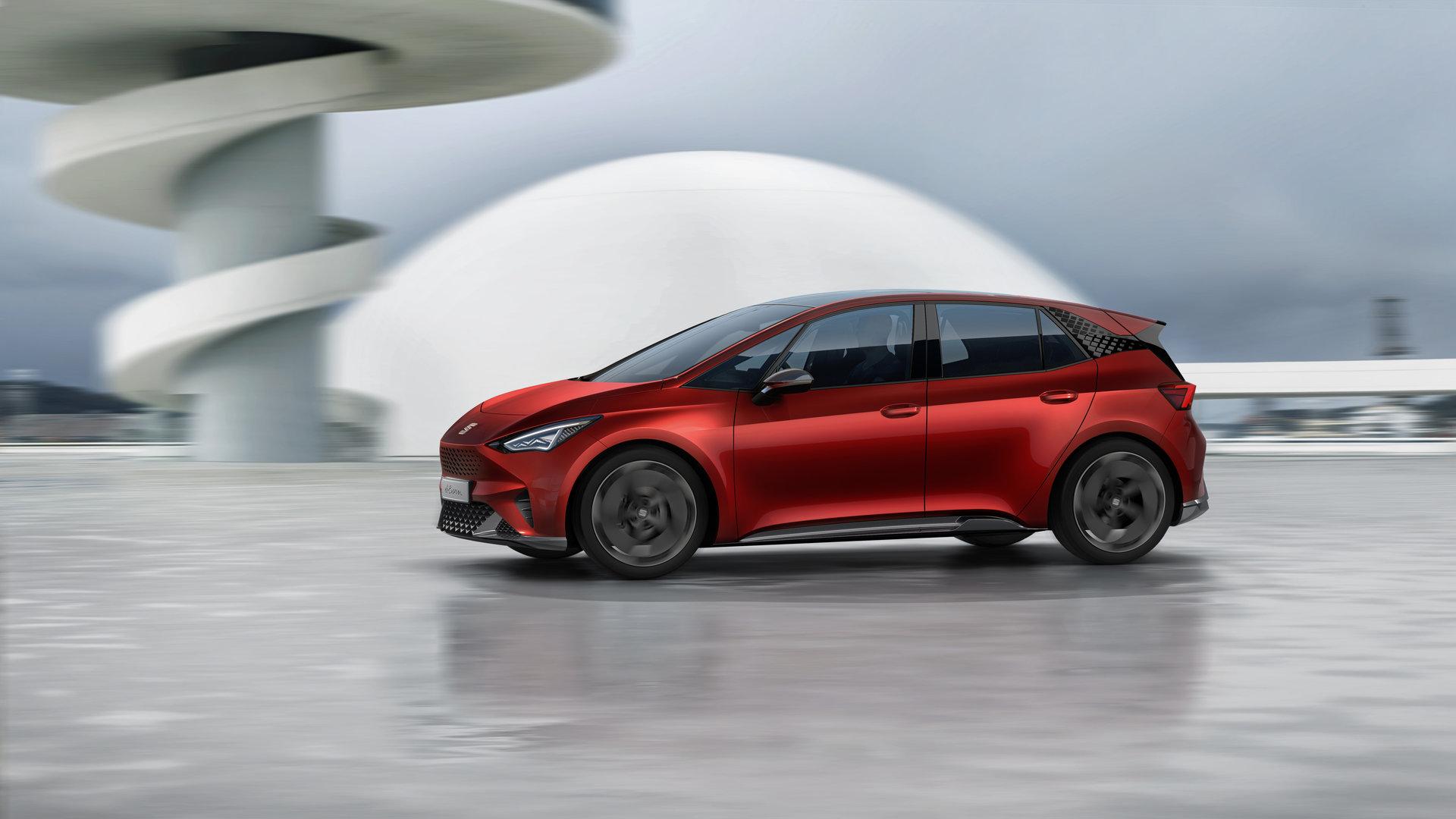 SEAT el-Born: alta conectividad en el futuro de la movilidad eléctrica