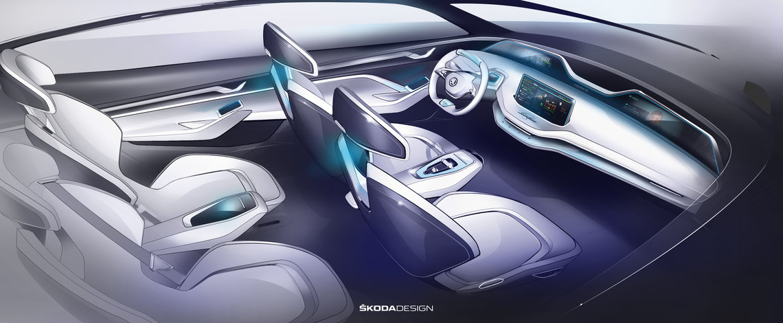 Skoda Vision E Concept 3