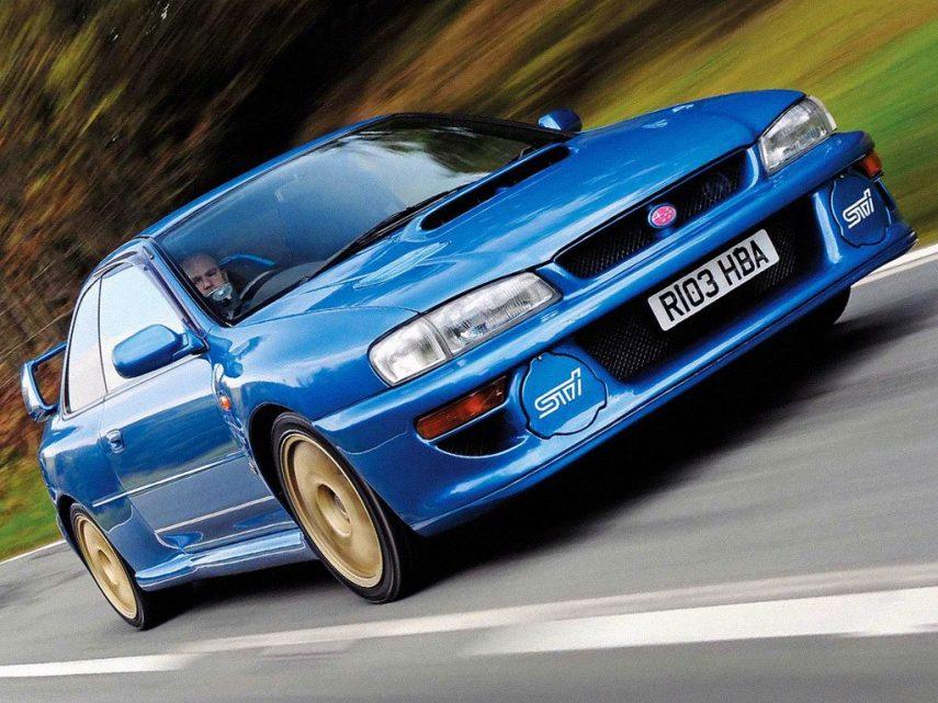 Coche del día: Subaru Impreza 22B STI