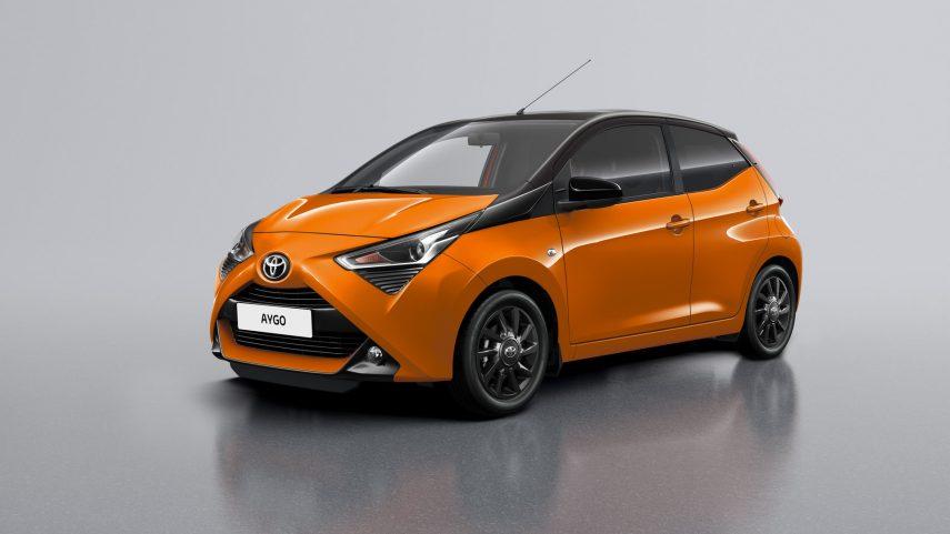 El Toyota Aygo x-cite 2019 también debuta en Ginebra