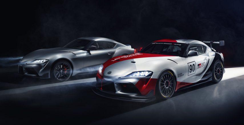 Toyota GR Supra GT4 Concept: listo para asaltar el circuito