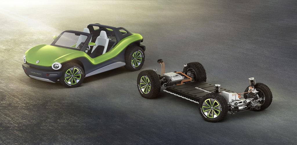 El Volkswagen I.D. Buggy sale a la luz
