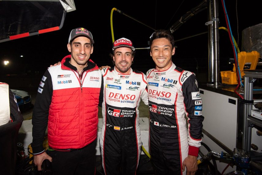 WEC: Alonso, Buemi y Nakajima vencen en las 1.000 millas de Sebring