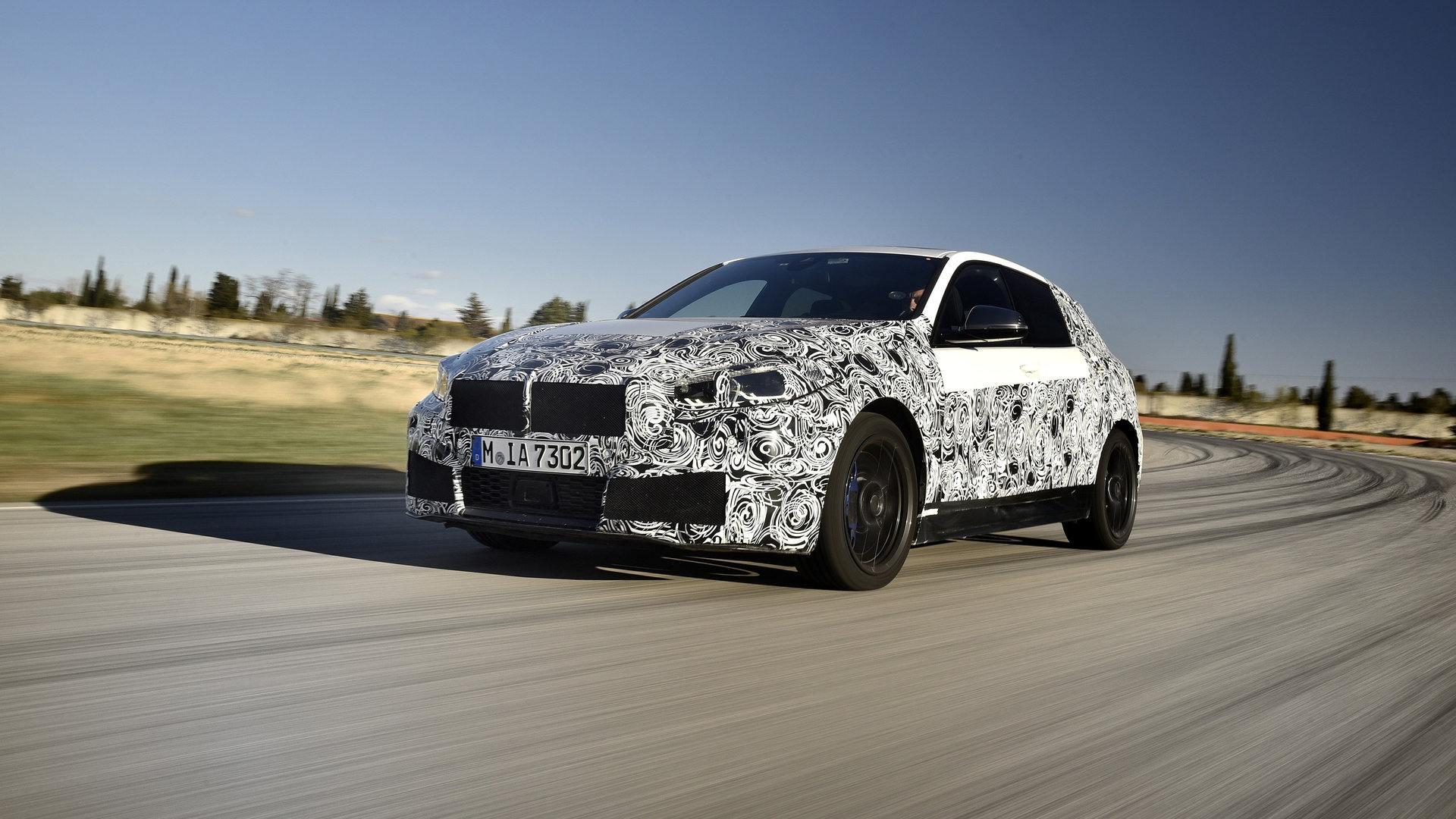 BMW está completando las pruebas dinámicas de la nueva Serie 1