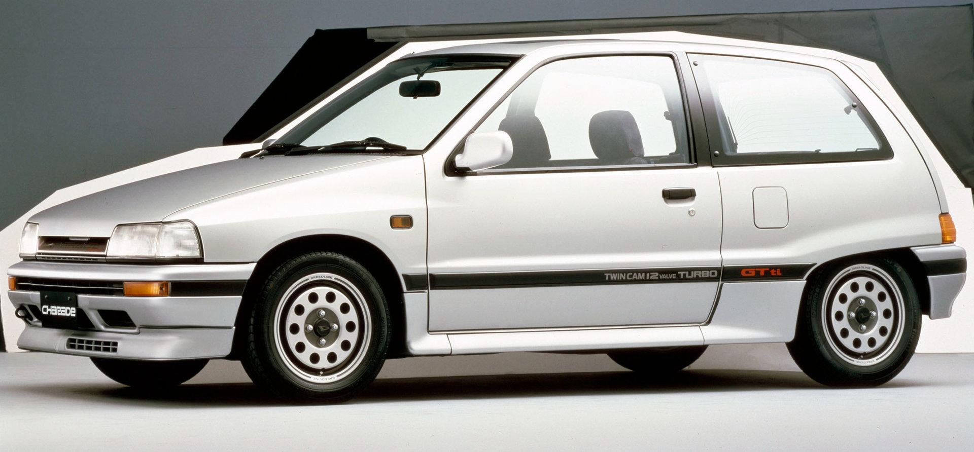 Coche del día: Daihatsu Charade GTti