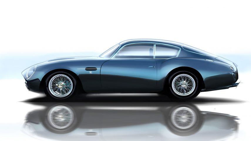 DB4 GT Zagato Continuation B