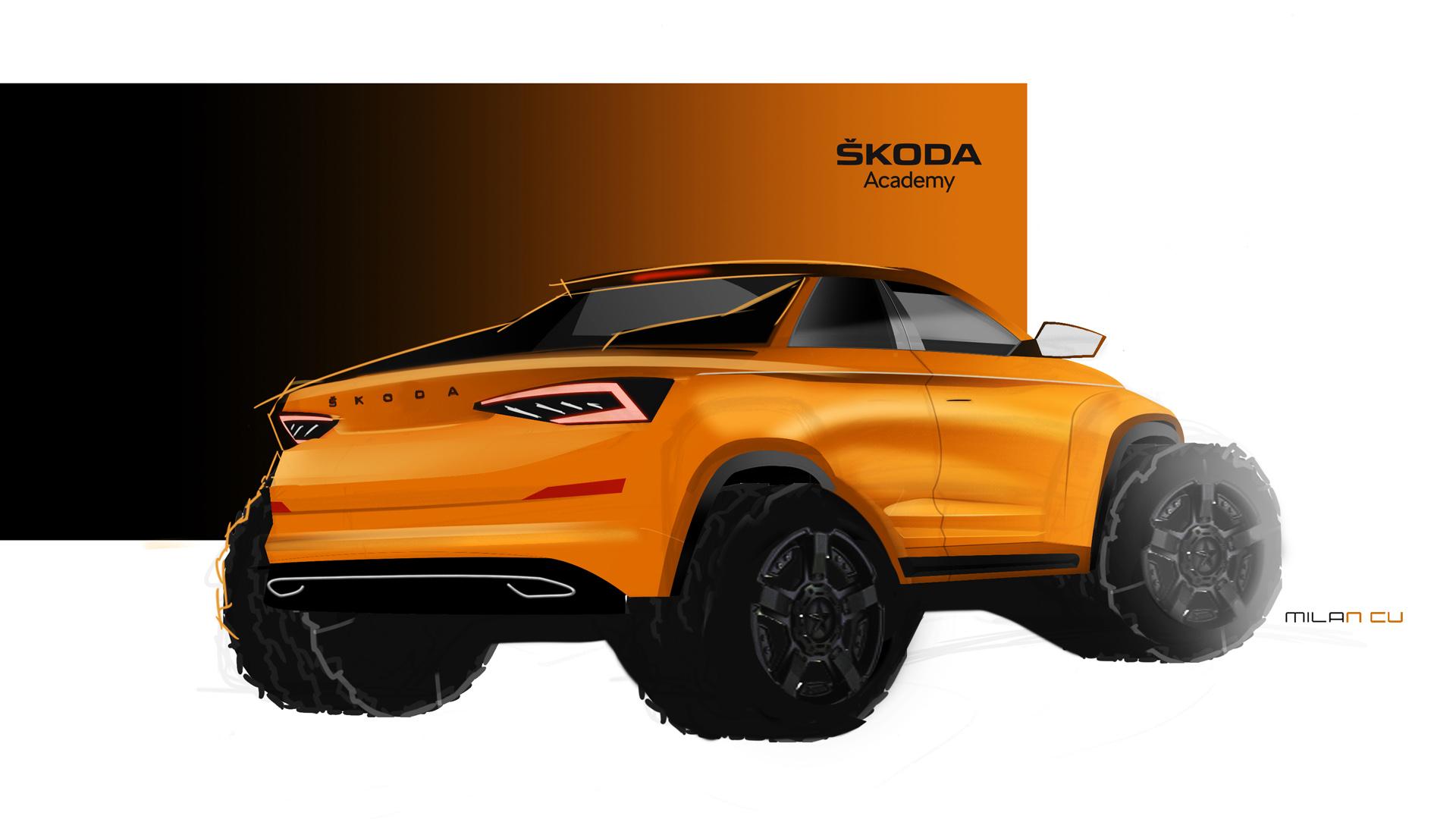 El Skoda Kodiaq se viste de pick-up