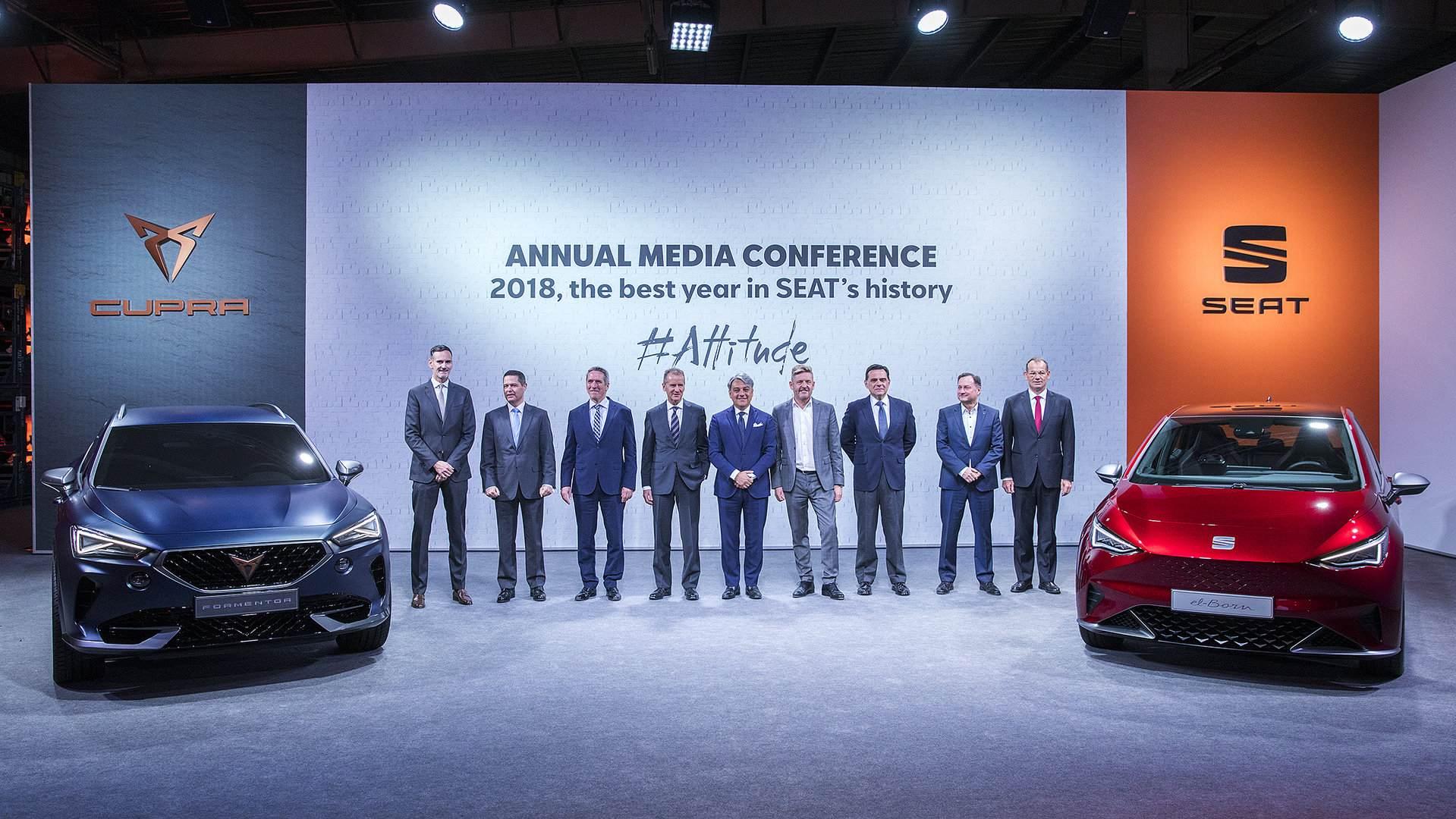 SEAT lanzará seis híbridos/eléctricos en el plazo de dos años