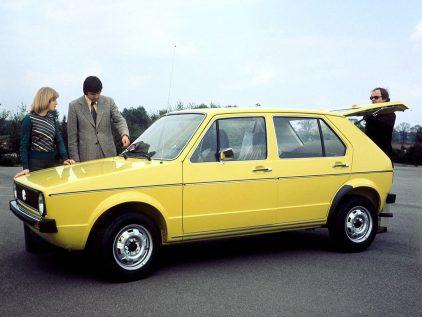 Volkswagen Golf 1974 3