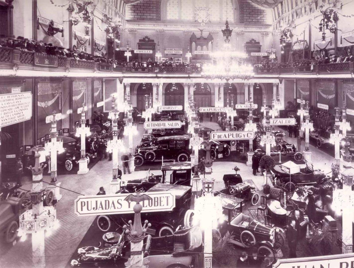 01 1919 Salon Automovil Barcelona Pujadas Y Llobet