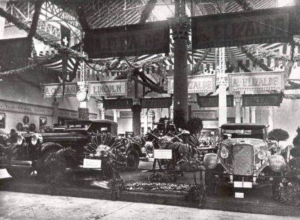 07 1927 Salon Automovil Barcelona Estand Elizalde