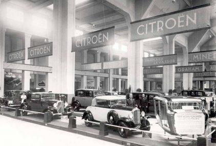 09 1933 Salon Automovil Barcelona Estand Citroen