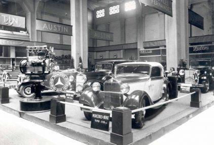 10 1933 Salon Automovil Barcelona Mercedes Benz Tipo 170