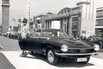 12 1966 BMW 1700 GTt