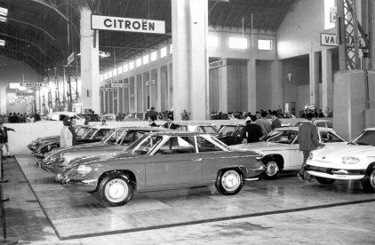 14 1967 Salon Automovil Barcelona Panhard 24