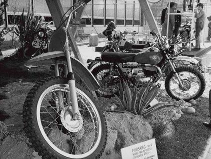 19 1970 Salon Automovil Barcelona Estand Moto Bultaco