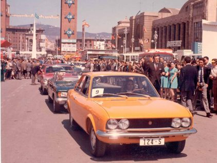 20 1970 Salon Automovil Barcelona Seat 124 Sport