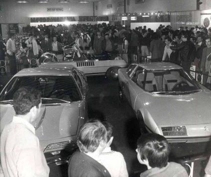 22 1972 Salon Automovil Barcelona Citroen Camargue Bertone