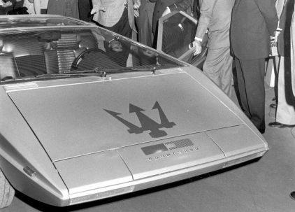 25 1973 Salon Automovil Barcelona Maserati Boomerang