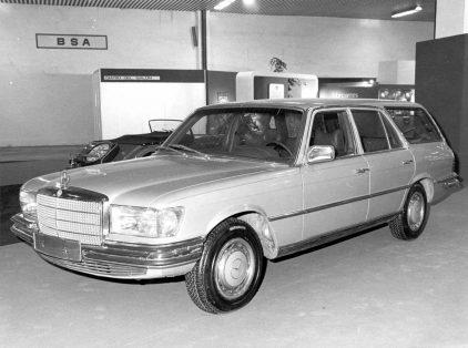 27 1974 Salon Automovil Barcelona Mercedes Benz Clase S
