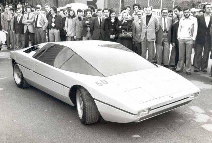 29 1975 Salon Automovil Barcelona Lamborghini Bravo
