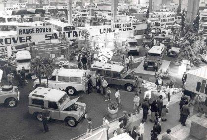 36 1981 Salon Automovil Barcelona Estand Land Rover Santana
