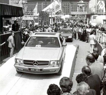39 1983 Salon Mercedes-Benz 500 SEC Barcelona Mercedes Benz 500 Sec