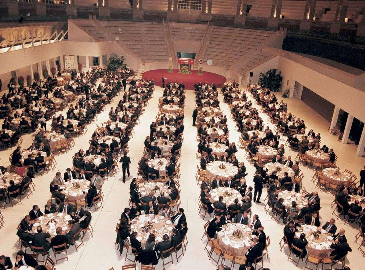 Celebración del 75 aniversario del Salón de Barcelona (1994)