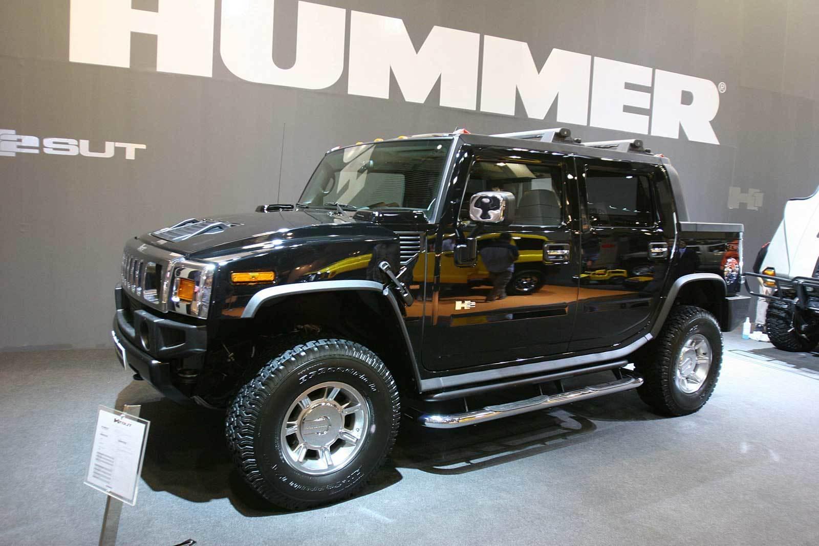 64 2007 Salon Automovil Barcelona Hummer H2 Pick Up