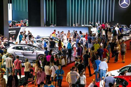 69 2013 Salon Automovil Barcelona Estand Mercedes