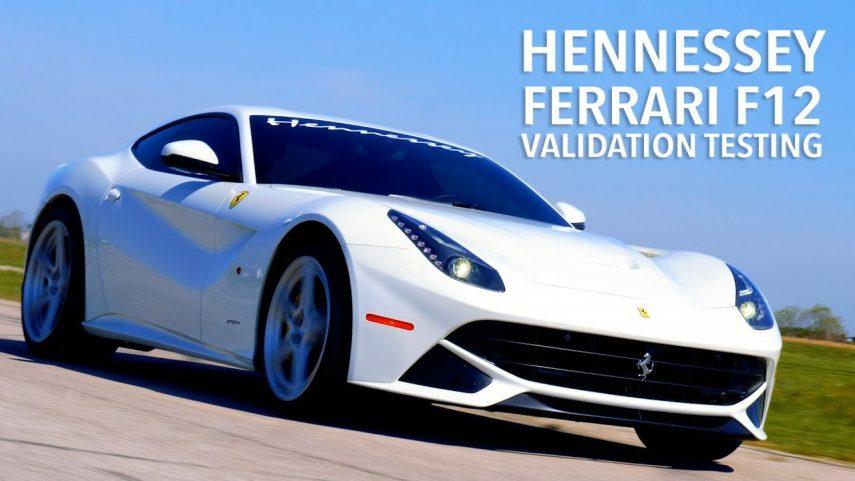 Ferrari F12 Berlinetta HPE800, un cavallino con sangre americana