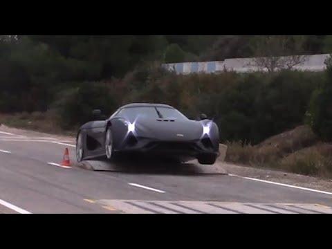 Así prueba Koenigsegg la seguridad estructural de sus coches