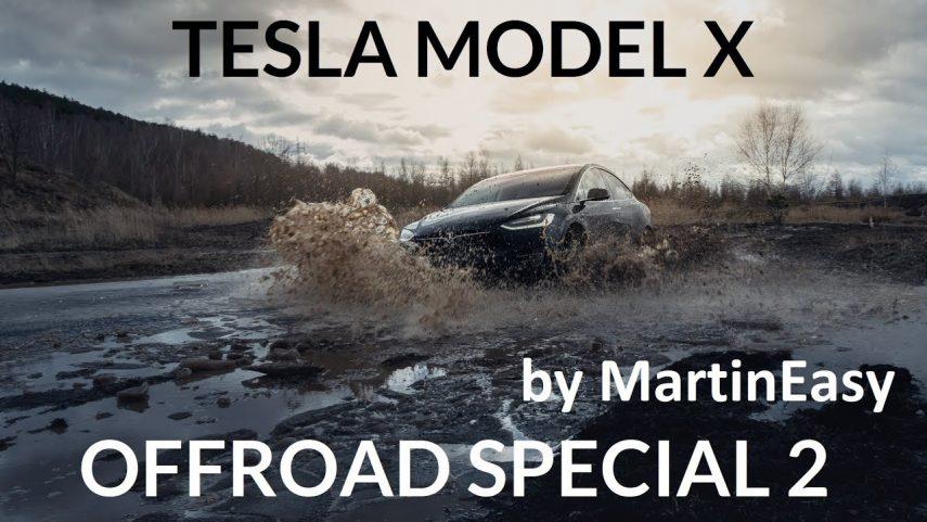 ¿Cómo se desenvuelve el Tesla Model X fuera del asfalto?
