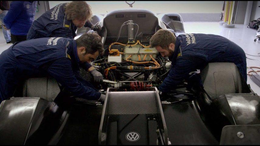 El Volkswagen ID.R se prepara para el asalto a Nürburgring