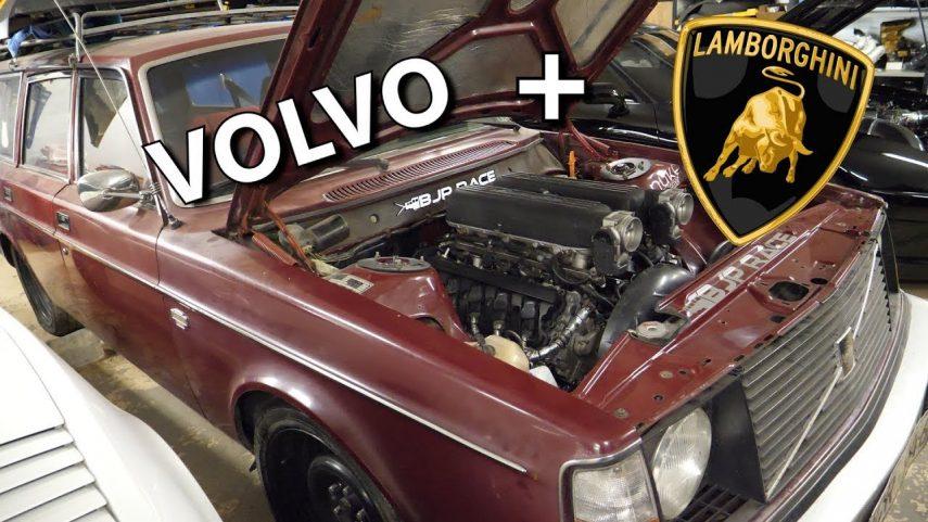 "Este Volvo 245 V10 será el ""sleeper"" definitivo"