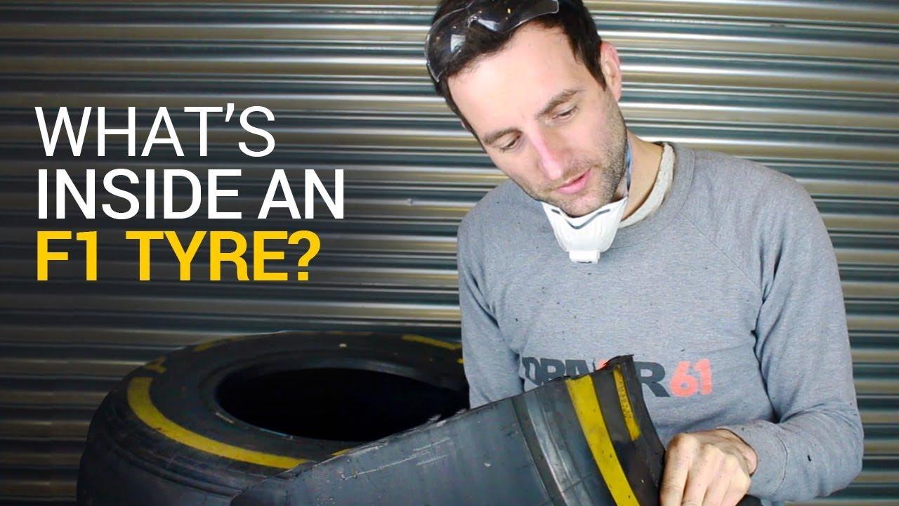 ¿Cómo es un neumático de Fórmula 1?