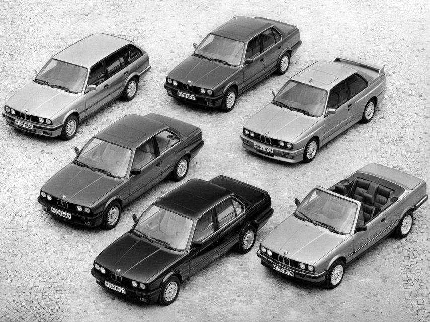 Coche del día: BMW Serie 3 (E30)