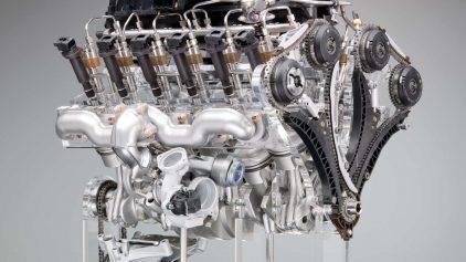 BMW Motor V12 N74B66TU 2