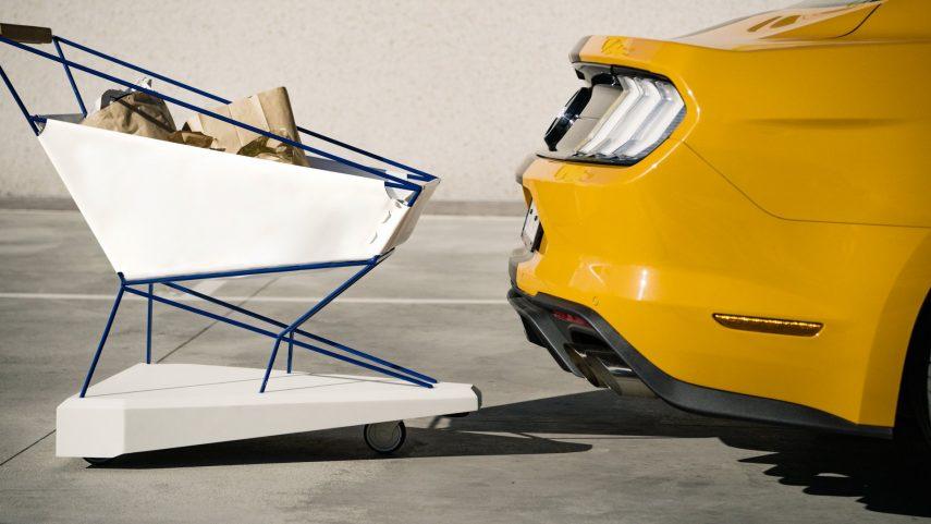 El carrito de Ford que evitará colisiones indeseadas