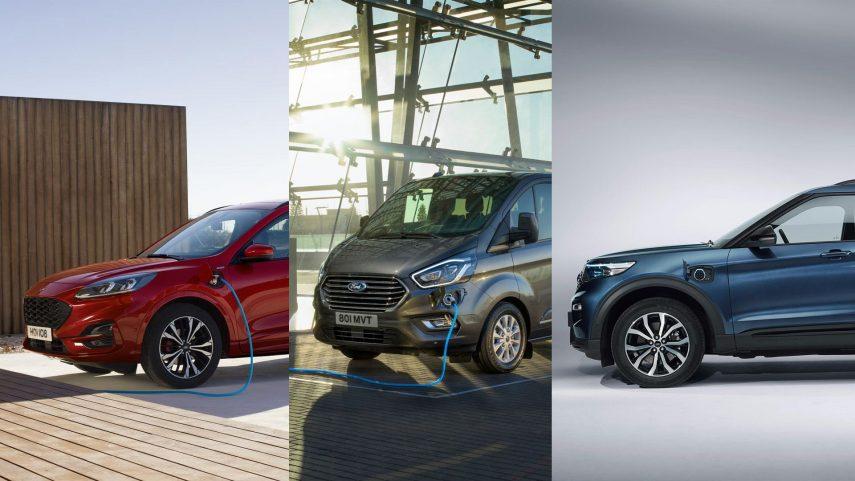 Ford apuesta fuerte por la electrificación: Kuga, Tourneo y Explorer híbridos enchufables