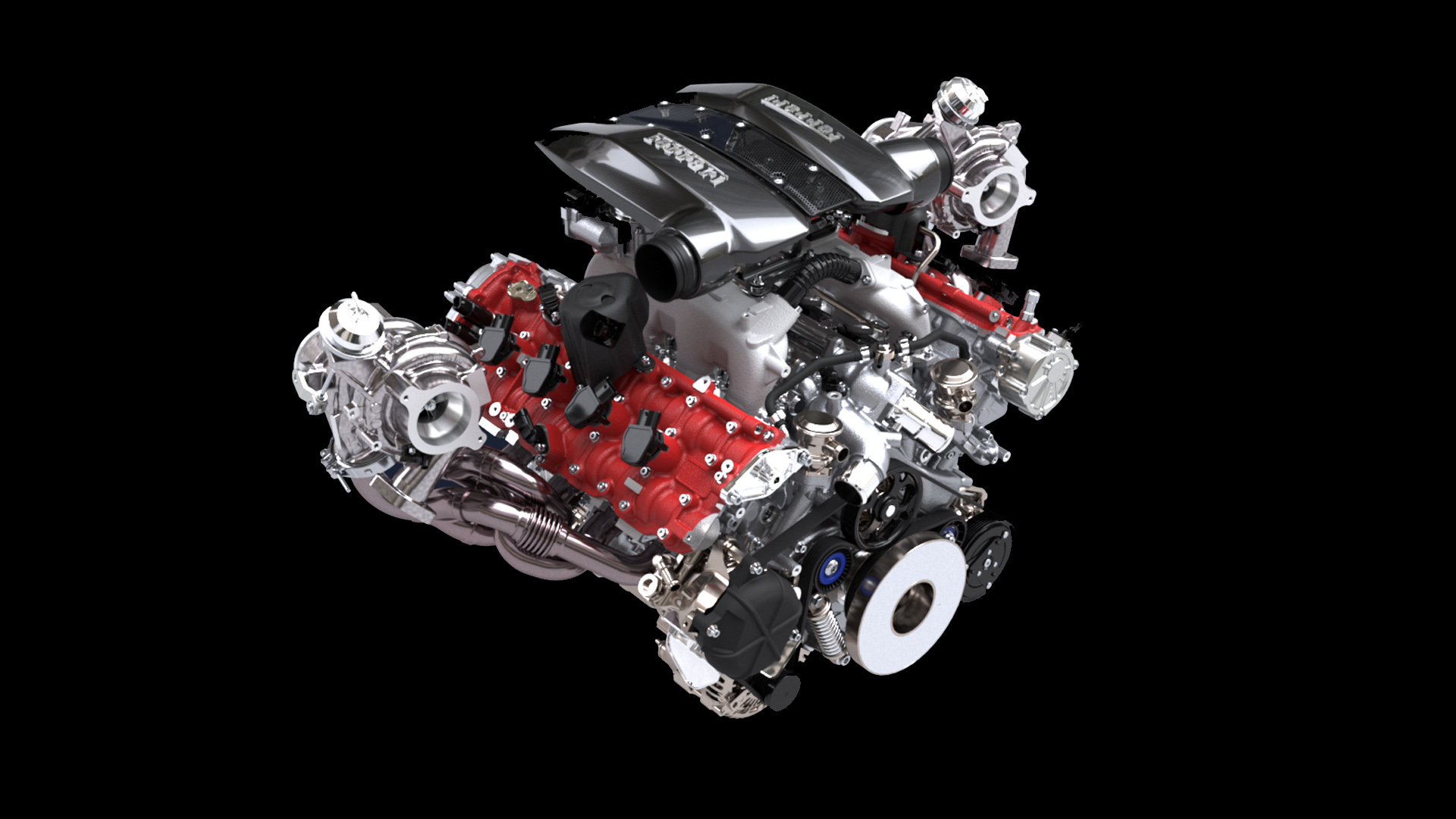 Ferrari F8 Tributo Motor 1