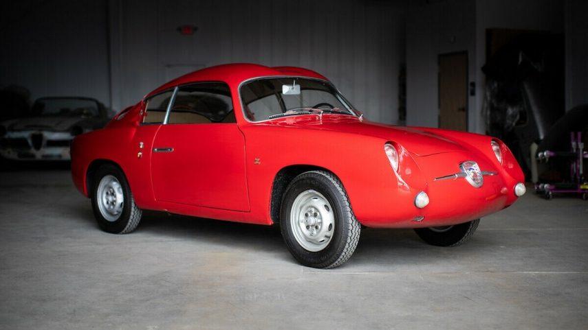 A la venta un hermoso Fiat Abarth 750 Zagato